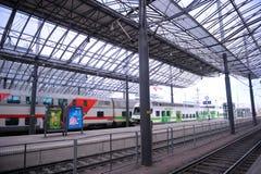 Estação de caminhos-de-ferro de Helsínquia Fotografia de Stock Royalty Free
