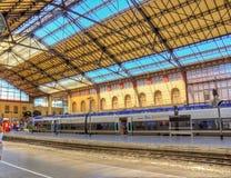 Estação de caminhos-de-ferro de Marselha, França foto de stock royalty free