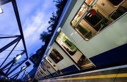 Estação de caminhos-de-ferro de Whitechapel foto de stock