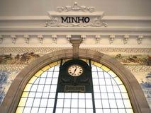 Estação de caminhos-de-ferro do bento do Sao, Porto, Portugal Imagem de Stock