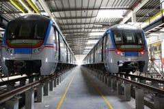 Estação de caminhos-de-ferro do metro Fotografia de Stock Royalty Free