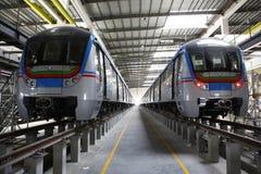 Estação de caminhos-de-ferro do metro Foto de Stock Royalty Free