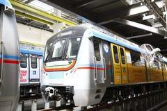 Estação de caminhos-de-ferro do metro Foto de Stock