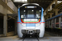 Estação de caminhos-de-ferro do metro Imagem de Stock