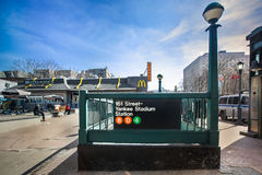 Estação de caminhos-de-ferro dos ianques de NY Fotografia de Stock