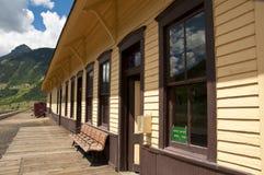 Estação de caminhos-de-ferro e museu de trabalho Imagem de Stock
