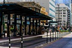 Estação de caminhos-de-ferro em houston do centro Imagem de Stock