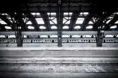 Estação de caminhos-de-ferro em Milão Imagens de Stock