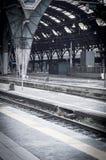 Estação de caminhos-de-ferro em Milão Foto de Stock Royalty Free