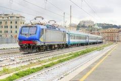 Estação de caminhos-de-ferro italiano Imagens de Stock Royalty Free