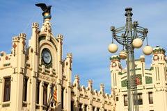 Estação de caminhos-de-ferro norte em Valença, Spain Foto de Stock
