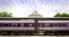 Estação de caminhos-de-ferro real em Banguecoque Fotos de Stock Royalty Free
