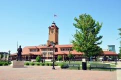 Estação de caminhos-de-ferro, Springfield, IL Fotos de Stock