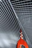 Estação de caminhos-de-ferro ultra moderno Fotografia de Stock