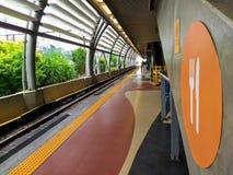 Estação de caminhos-de-ferro imagem de stock