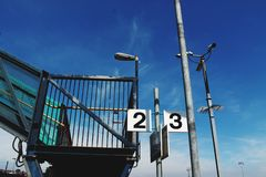 Estação de caminhos de ferro Barry foto de stock royalty free
