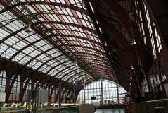 Estação de caminhos-de-ferro central de Antuérpia Imagem de Stock Royalty Free
