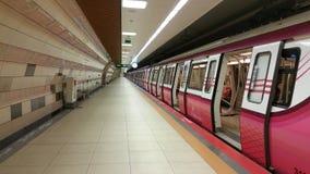 Estação de caminhos-de-ferro do metro Fotos de Stock