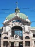 Estação de caminhos-de-ferro em Chernivstsi fotos de stock