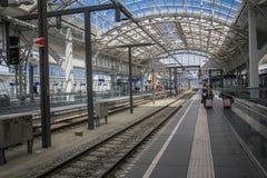 Estação de caminhos-de-ferro em Salzburg Foto de Stock Royalty Free