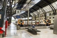 Estação de caminhos-de-ferro francês em Barcelona Foto de Stock
