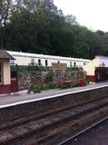 Estação de caminhos-de-ferro de Goathland foto de stock