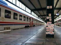 Estação de caminhos-de-ferro de Haydarpasha fotografia de stock royalty free