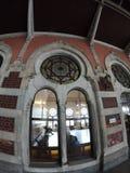 Estação de caminhos-de-ferro histórico de Sirkeci fotos de stock
