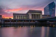 Estação de caminhos-de-ferro Philadelphfia Fotografia de Stock Royalty Free