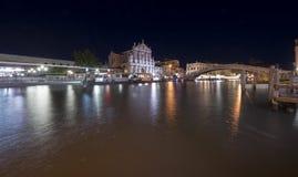 Estação de caminhos-de-ferro de Veneza, Alla Ferovia Fotos de Stock Royalty Free