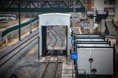 Estação de caminhos de ferro de Zamora, Espanha fotos de stock