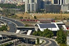 Estação de Campolide, Lisboa Imagens de Stock Royalty Free