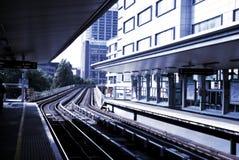 Estação de comboio Fotos de Stock Royalty Free