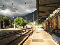 Estação de comboio fotografia de stock