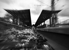 Estação de comboio foto de stock royalty free