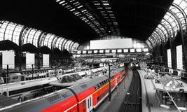 Estação de comboio foto de stock