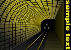 Estação de comboio abstrata Imagem de Stock Royalty Free