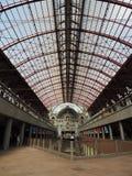 Estação de comboio britânica fotos de stock royalty free