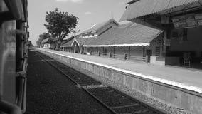 Estação de comboio britânica imagens de stock royalty free