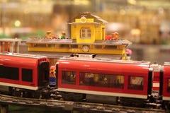 Estação de comboio britânica Foto de Stock