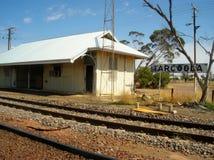 Estação de comboio britânica Imagem de Stock
