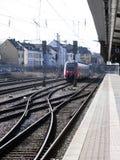 Estação de comboio central em Luxembourg Fotografia de Stock