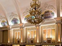 Estação de comboio da cidade de Kiev fotografia de stock royalty free