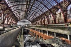 Estação de comboio de Antuérpia fotos de stock