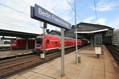 Estação de comboio de Berlim foto de stock royalty free