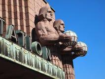 Estação de comboio de Helsínquia foto de stock royalty free
