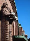 Estação de comboio de Helsínquia imagem de stock