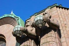 Estação de comboio de Helsínquia imagens de stock royalty free