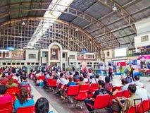 Estação de comboio de Hua Lamphong foto de stock