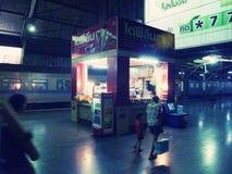 Estação de comboio de Hua Lamphong fotos de stock royalty free
